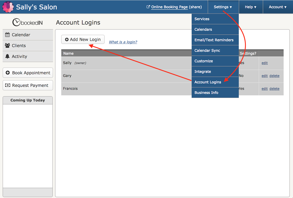 adding-bookedin-user-account-logins-for-staff-appointment-scheduling-receptionist.png