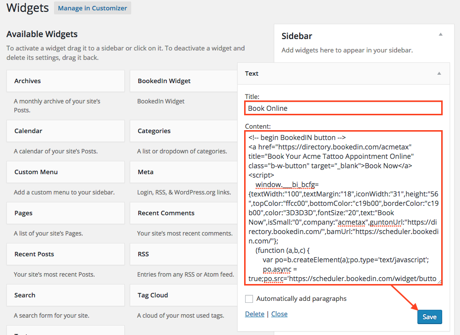 how to make comments appear on pages in wordpress site